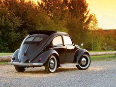1952 Volkswagen Beetle Rear Passenger