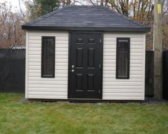 cabanon 206-5 Shed, Backyard, Outdoor Structures, Gardens, Lean To Shed, Yard, Backyard Sheds, Sheds, Backyards