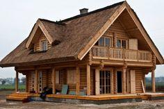 Wytrzymałość domów z bali.Technologia budowy domów z bali głównie jest wykorzystywana w Kanadzie, gdzie większość domów budowana jest z wys...
