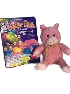 Easter fun Egg Decorating with Buddy Bundle: Includes Pink Lovable Pig Plush and Glitter Egg Dye Kit Miscellanous http://www.amazon.com/dp/B01CK5ETNQ/ref=cm_sw_r_pi_dp_1hd4wb09V279Y