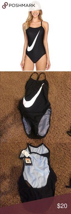 Nwt Nike swimsuit 1 piece girls 12 No trades new Nike Swim One Piece