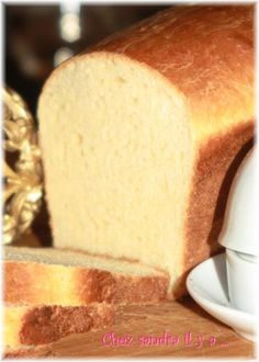 Pain de mie super simple et super bon ! - Chez Sandra il y a . Tasty, Yummy Food, Cooking Chef, Best Sandwich, Bakery, Brunch, Food And Drink, Pulled Pork, Homemade