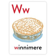 Alphabet Greeting Cards - W is for Winnimere
