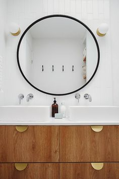 One Room Challenge Reveal with Semihandmade drawer fronts and Ikea Godmorgan double vanity. Ikea Bathroom, Bathroom Spa, Master Bathroom, Bathroom Ideas, Glass Bathroom, Wood Bathroom, Bathroom Vanities, Bathroom Inspiration, Small Bathroom