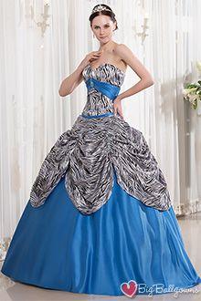 Blue Masquerade Ball Dresses for Women