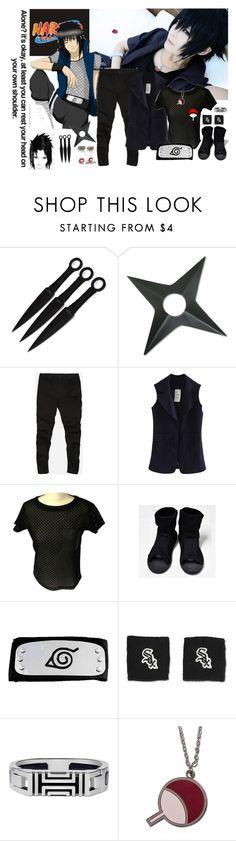 """Sasuke Uchiha"" by bambolinadicarta ❤ liked on Polyvore featuring Gérard Darel, Franklin, Tory Burch, women's clothing, women's fashion, women, female, woman, misses and juniors"