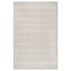 Cushion your floors with comfort and style with the Safavieh Newport Dhurrie Rug. This indoor area rug is flat woven in a wool viscose blend and has a low pile for easy vacuuming. The throw rug has a pattern of straight lines and right angles and comes in a choice of colors.