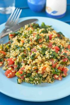 Spinach And Millet Pulav Recipe