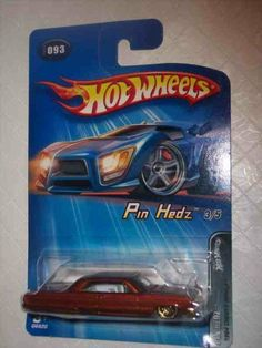 Pin Hedz Series #3 1964 Chevy Impala Lace Wheels #2005-93 Collectible Collector Car Mattel Hot Wheels by Hot Wheels. $1.99. Great Investment For Any Hot Wheels Collector.. Diecast Metal Hot Wheels Car Perfect For That Hot Wheels Collector!. A Perfect Addition To Any Hot Wheels Collection!. Fun For All Ages! Serious Collectors And Kids Alike!. Perfect Hot Wheels Diecast for every collector!. Pin Hedz Series #3 1964 Chevy Impala Lace Wheels #2005-93 Collectible Collector Car ...