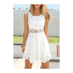 So nice White dress The Fashion: Gorgeous dress black fur Summer outfits Teen fashion Cute Dress! Clothes Casual Outift for teenes movies girls women . summer fall spring winter outfit ideas dates school parties mint cute sexy ethnic skirt Moda Fashion, Teen Fashion, Fashion Beauty, Fashion Ideas, Fashion Women, Style Fashion, Fashion Inspiration, Fashion Spring, Fashion 2015