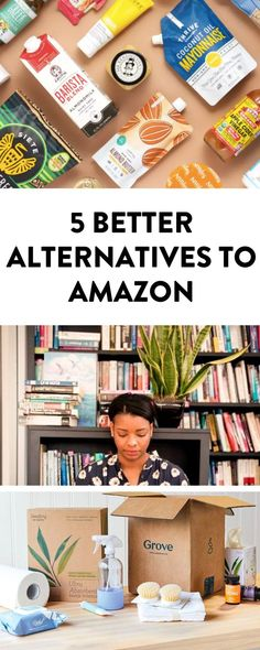 Looking to shop more ethically and support small businesses? Here are 5 alternatives to Amazon so you can quit Amazon and support more ethical businesses. #amazonalternatives #shopping