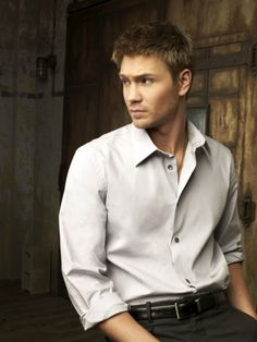 I wouldn't mind having lunch with him just because he's so utterly cute! Chad Michael Murray is certainly a cutie pie=)
