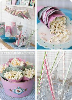 DIY Popcorn cones - Craft  Creativity