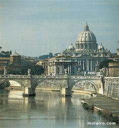 Roma y las cúpulas de sus iglesias. La basílica de San Pedro., Iglesias de Roma $75