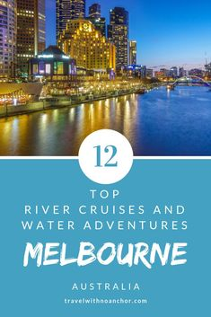 Melbourne shows off its best side from the beautiful waters of the Yarra River. Find the best Melbourne River Cruises and water adventures to take in the city skyline and amazing views on offer. Australia Tourism, Airlie Beach, Water Activities, Ultimate Travel, Melbourne Australia, Travel Inspiration, Travel Ideas, Travel Tips, Adventure Travel