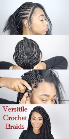 Remarkable Crochet Dreads Tutorial Crochet Dread Locs Dread Locs Crochet Short Hairstyles Gunalazisus