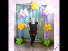 Arco de Balões FLORAL - YouTube