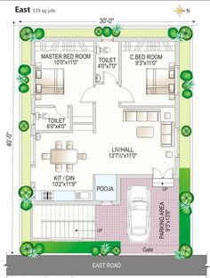House Plan South Facing : Fantastic Floor Plan - Navya Homes At Beeramguda, Near Bhel, Hyderabad - Navya House Plan South Facing Pic. 30 x 45 duplex house plans south house plan south facing 2bhk House Plan, Model House Plan, House Layout Plans, Duplex House Plans, Luxury House Plans, Bedroom House Plans, Dream House Plans, Small House Plans, House Layouts