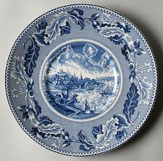Historic America Plate, Collectors plate, Johnson Brothers plate ...