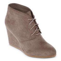 Arizona Lacie Womens Wedge Booties   found at @JCPenney #JCPambassador #bh #ad