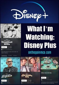 Disney+ is changing the scenery of on-demand television, and here is what I'm watching!