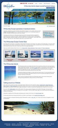 Whitsunday Escape Website