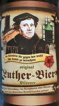 Luther Bier, a Dunkel from Germany