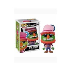 Funko POP Muppets (VINYL): Dr. Teeth http://popvinyl.net #funko #funkopop #popvinyls