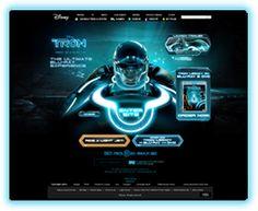 Disney Tron Legacy - Narrative delivered via Parallax Graphic Design Art, Web Design, Tron Legacy, Web Inspiration, Ui Kit, Onion Rings, Cool Websites, Web Development, Art Reference