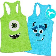 Workout Tank Monsters Inc Mike Sully Rundisney Fan Burnout Shirt Top... (330 MXN) ❤ liked on Polyvore featuring activewear, activewear tops, silver, women's clothing, workout shirts, burn out shirt, blue shirt, cut off shirts and cut off workout shirts