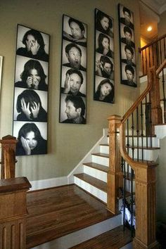 staircase wall decorating