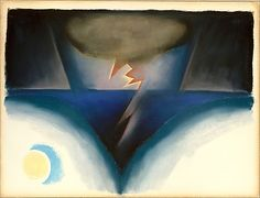 A Storm by Georgia O'Keeffe  http://images.metmuseum.org/