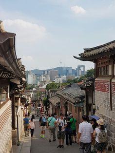 Bukchon Hanok village Seoul, Korea