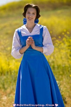 Cosplay: Peasant Belle by Adella.
