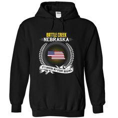Born in BATTLE CREEK NEBRASKA T-Shirts, Hoodies. Get It Now ==► https://www.sunfrog.com/States/Born-in-BATTLE-CREEK-2DNEBRASKA-V01-Black-Hoodie.html?id=41382
