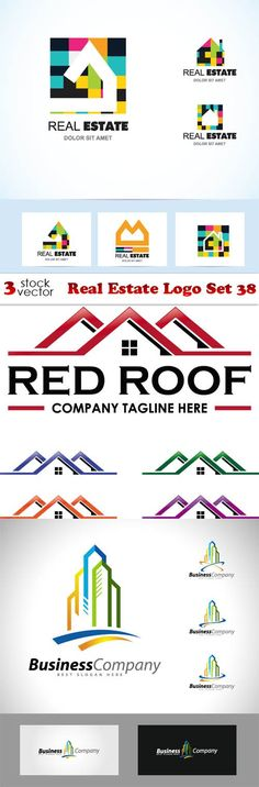 Vectors - Real Estate Logo Set 38