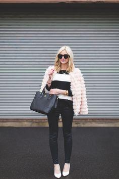 Shaggy Pink Jacket
