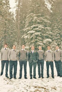 24 Groomsmen Attire In Classic Style, Vest, Tuxedo & Casual ❤ See more: http://www.weddingforward.com/groomsmen-attire/ #weddings #groomsmen