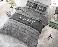 Sleeptime Home Grijs - Gratis bezorgen & retour! Modern Sheets, Model Homes, Comforters, Blanket, Design, Website, Shop, Products, Twin Cribs