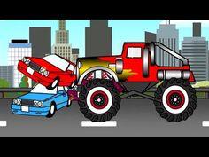 Câu chuyện về chiếc xe QUÁI VẬT ( phim hoạt hình dành cho trẻ em)