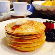 Yummy gluten-free coconut pancakes!