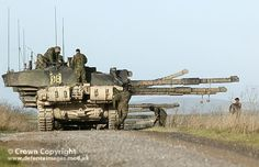 Soldiers from the King's Royal Hussars prepare to extract from Salisbury Plain after torrential downpours forced the cancellation of Ex Druid's Dance. British Army, British Tanks, Salisbury Plain, World Tanks, British Armed Forces, Military Armor, Harbin, Armored Fighting Vehicle, Battle Tank