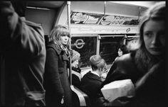 Julie Christie on the London Underground 1965: David Hurn / Magnum