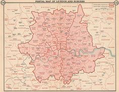 20 Best Postcode London Images London Map Greater London London