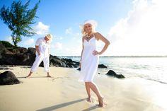 beach wedding at Royal Palm Mauritius