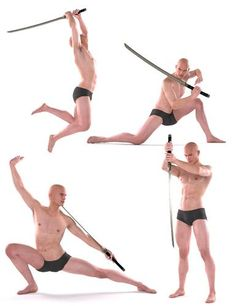 Ideas For Art Reference Photos Figure Drawing Action Poses - Action Pose Reference, Human Poses Reference, Pose Reference Photo, Anatomy Reference, Sword Reference, Figure Reference, Body Reference, Action Posen, Sword Poses