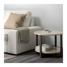 RISSNA Side table, beige beige 23 5/8 Ikea Coffee Table, Brass Coffee Table, Coffee Table Inspiration, Ikea Us, White Side Tables, Nesting Tables, Apartment Living, Living Room Furniture, Home Furnishings