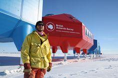 Antarctica... Halley VI Antarctic Opens Hugh Broughton Architects and British Antarctic Survey