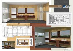 Studie koupelny Studios, Loft, Bed, Furniture, Design, Home Decor, Decoration Home, Stream Bed, Room Decor