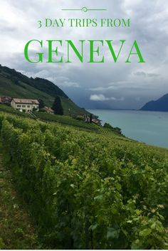 Staying in Geneva but looking for some nice day trips outside the city? Check out my top 3 recommended day trips from Geneva, Switzerland - Lavaux, Gruyeres and Annecy.